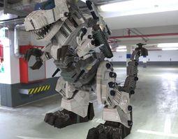 3D model TyranoBot