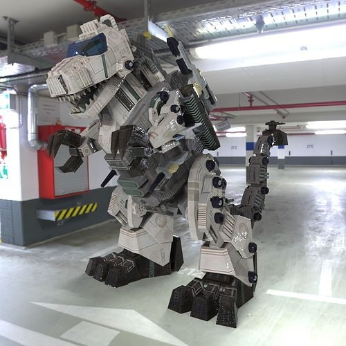 tyranobot 3d model obj mtl pz3 pp2 1