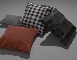 3D model Realistic Cushions