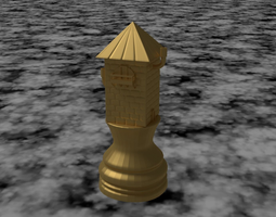 CHESS TOWER 3D Model