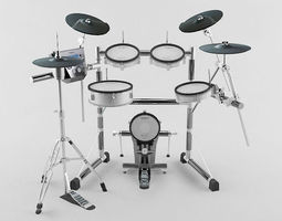 3D asset Drum kit