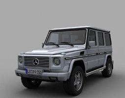 Mercedes G class Galendwagen 3D model