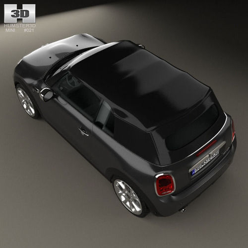 Mini Cooper Convertible 2014 3d Model: Mini Cooper Convertible 2014 3D Model MAX OBJ 3DS FBX C4D