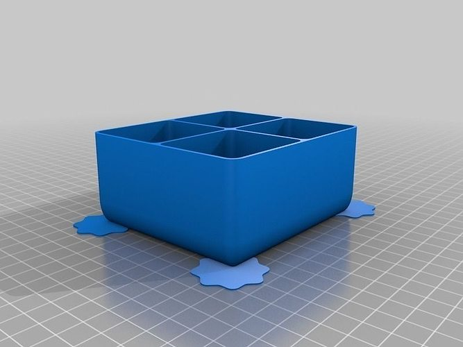Custom sized lipstick holder free 3d model 3d printable for Jewelry stand 3d model