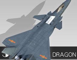 3D model Chengdu J-20