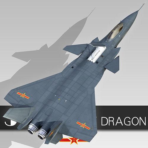 J 20 3D model Chengd...