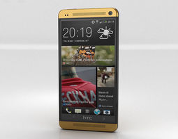 HTC One Gold Edition 3D