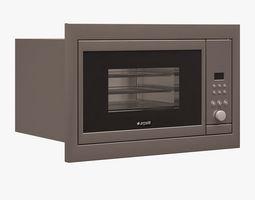 3d asset built-in toaster oven 001 arcelik