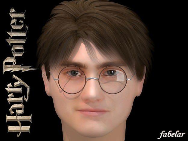 Harry Potter 3d Model Max Mat