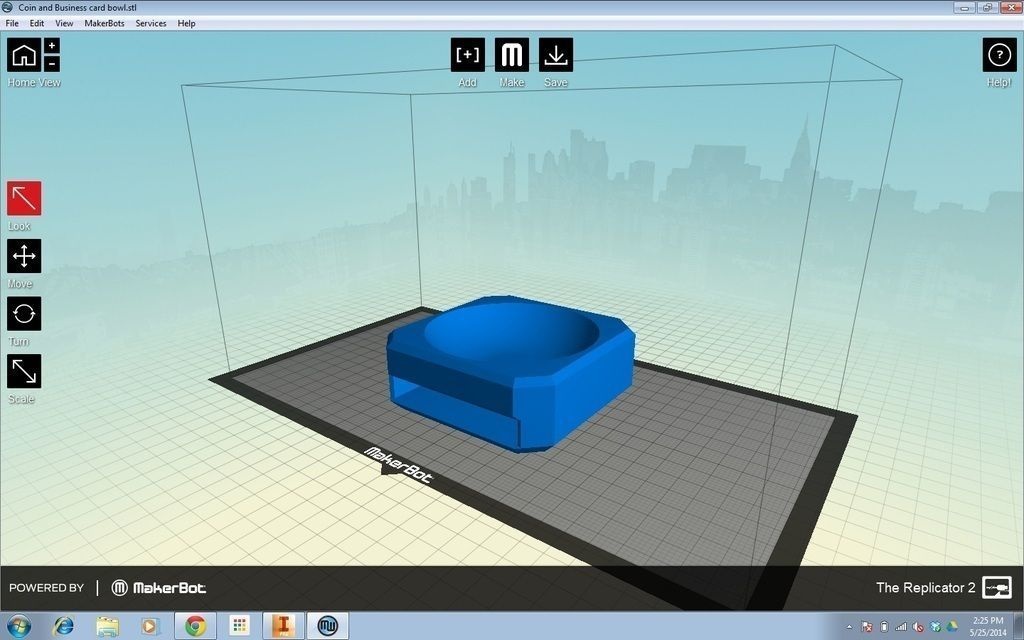 Coin and Business Card Organizer 3D print model | CGTrader