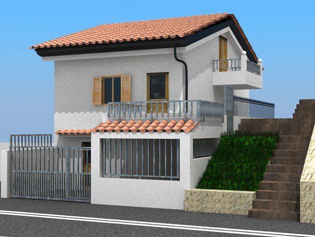 house 3d model max mat 1