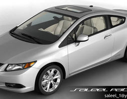 honda civic si 2012 3d