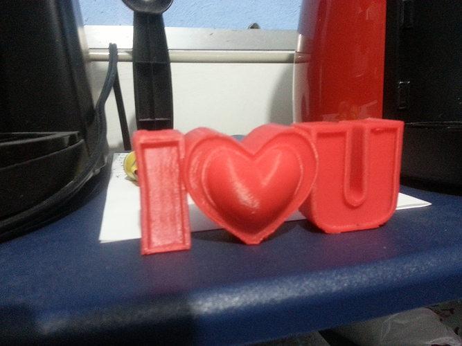 I love u valentines gift 3d print model cgtrader i love u valentines gift 3d print model negle Choice Image