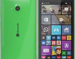 3D model Microsoft Lumia 535 Green