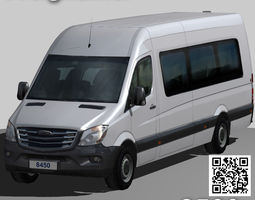 Freightliner Sprinter minibus 3500 3D model