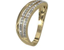 Ring 3line 3D Model