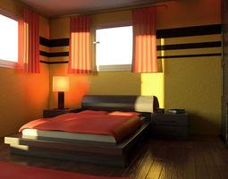 mr bedroom 02 3d