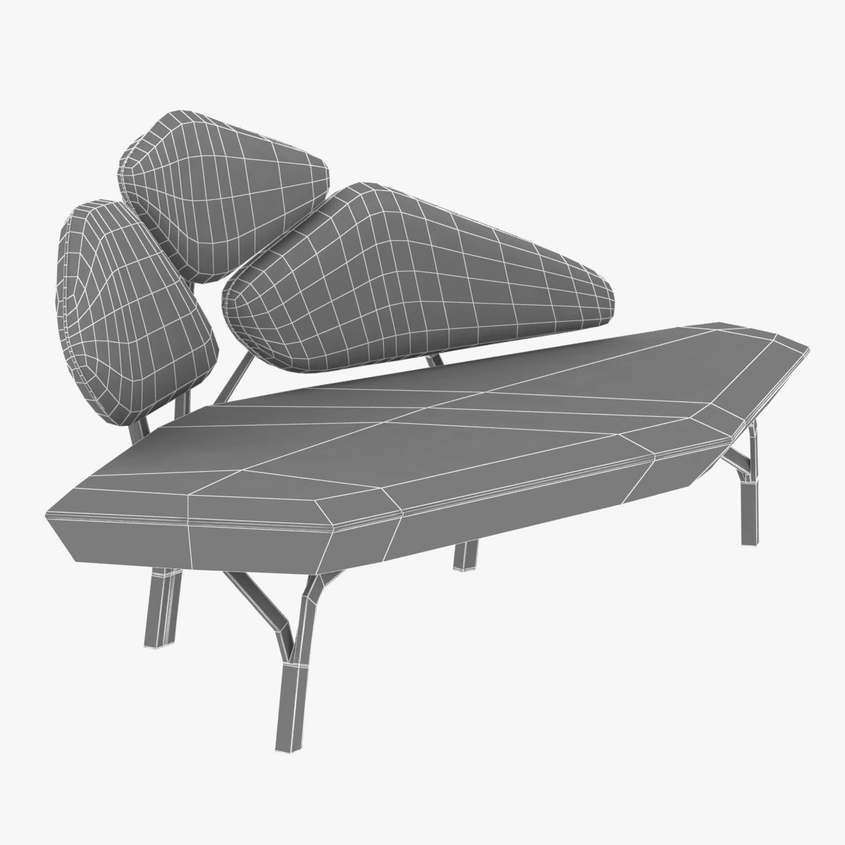 ... Borghese   La Chance Light Sofa 3d Model Max Obj 3ds Fbx Mtl 10 ...