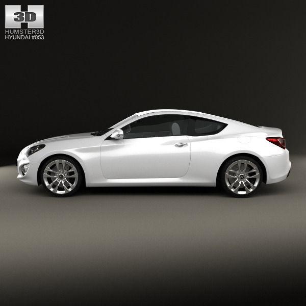 ... Hyundai Genesis Coupe 2012 3d Model Max Obj 3ds Fbx C4d Lwo Lw Lws 6 ...