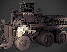 slave hauler 3d model