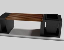 3D model Modern Bench