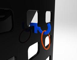 hook up 3d print model