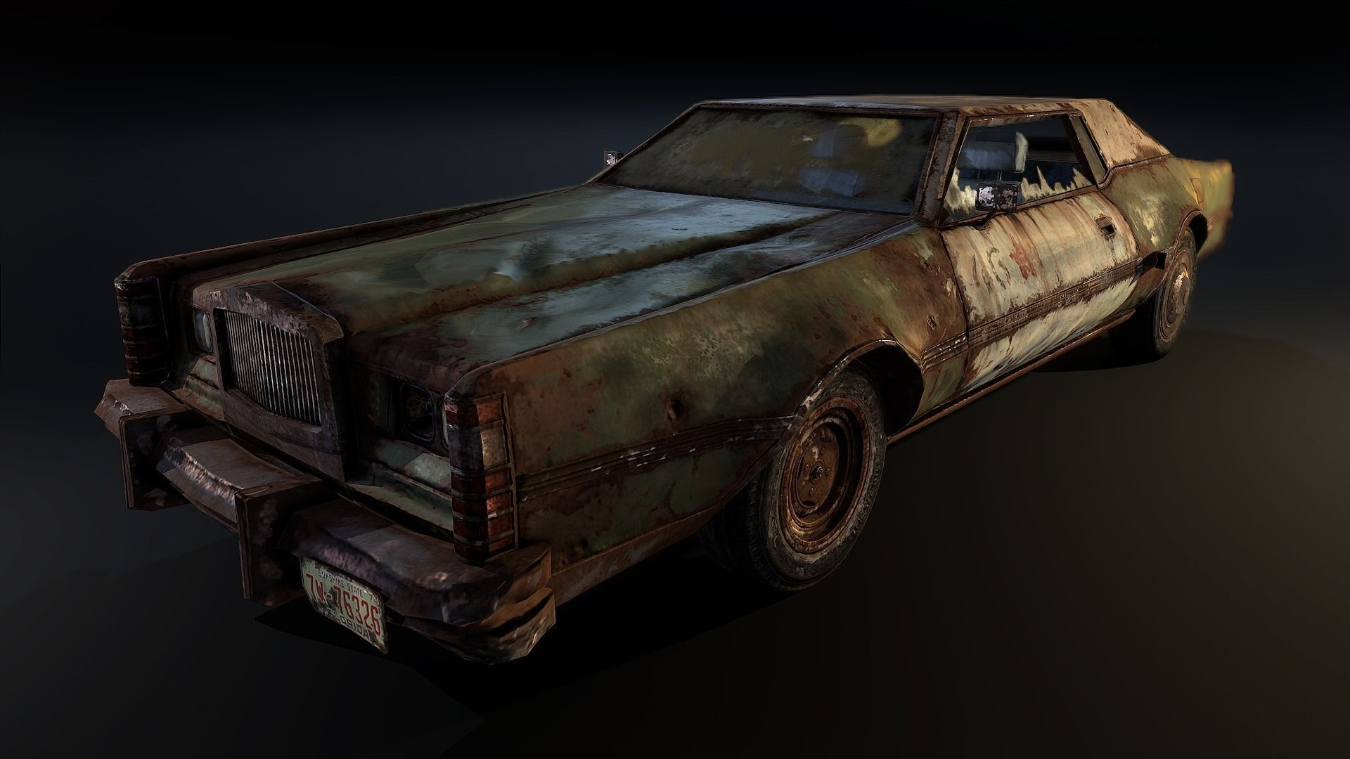 3d asset post apocalyptic car cgtrader rh cgtrader com post apocalypse car modifications post-apocalypse card games