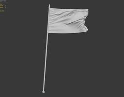 3D model flag free