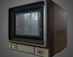 PBR realtime 3d model cctv monitor