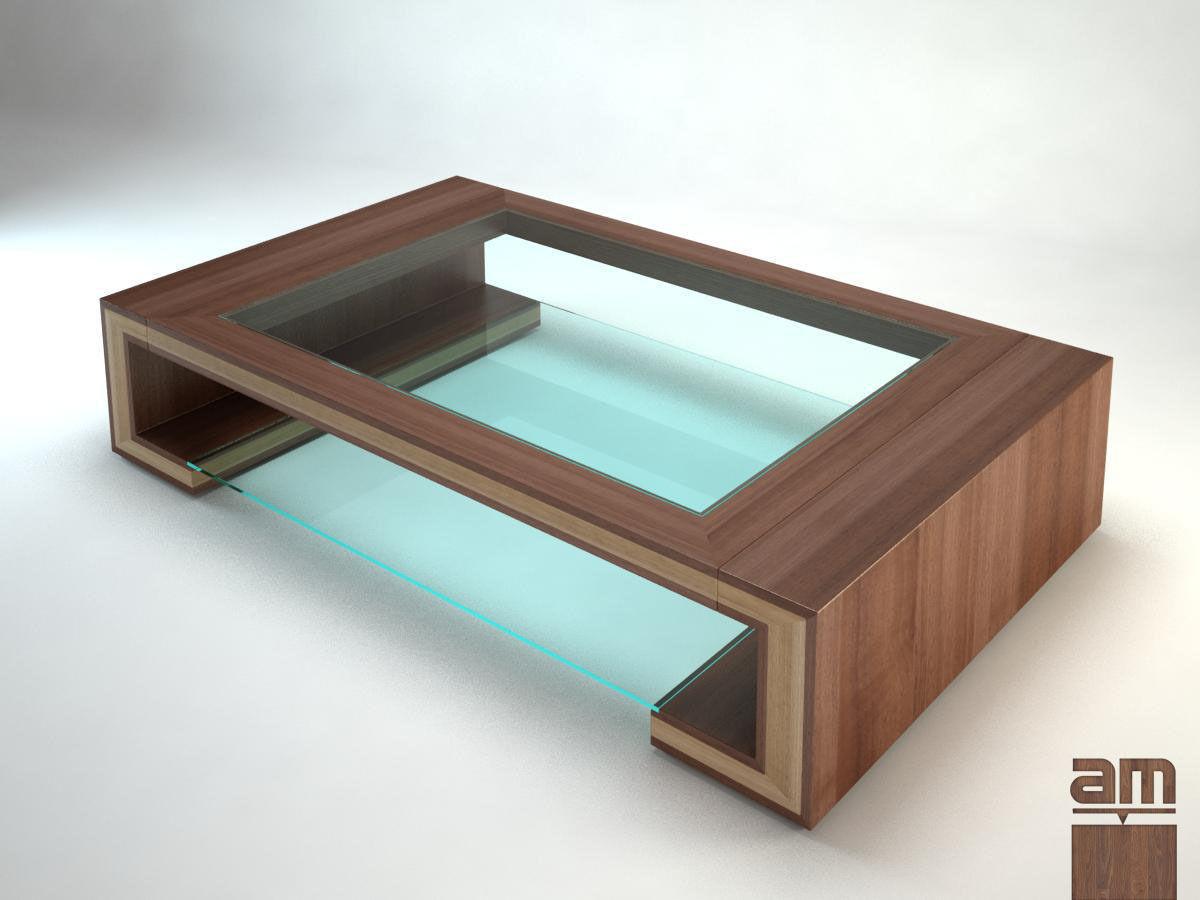 Coffee table c 3d model max obj fbx for Table design 3d model