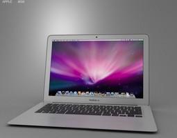 apple macbook air 13 inch 2012 3d model max obj 3ds fbx c4d lwo lw lws