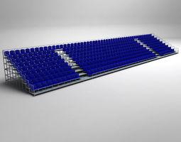 3D Stadium Seating Tribune