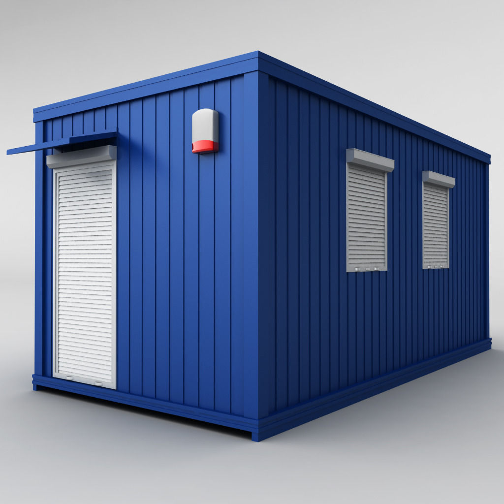 Container shipping house