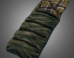 Sleeping Bag 3D model