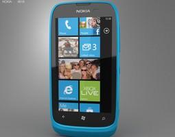 Nokia Lumia 610 3D asset