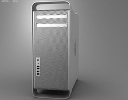 3D asset Apple Mac Pro