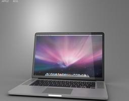 Apple MacBook Pro with Retina display 15 inch display 3D Model