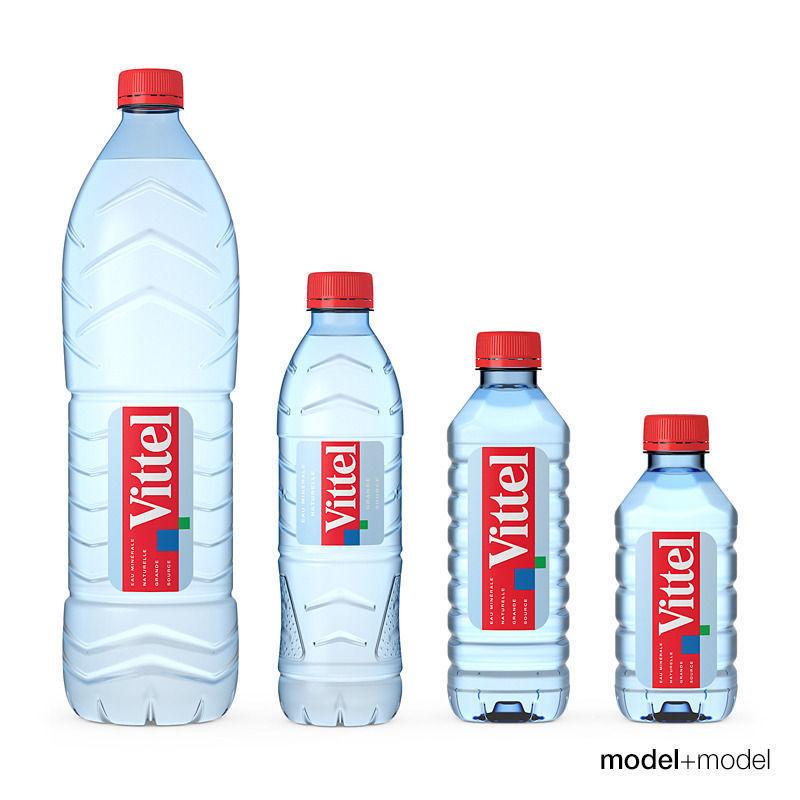 Vittel water 3d model max obj fbx mat - Water badkamer model ...