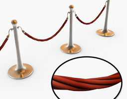 3d rope barrier hd