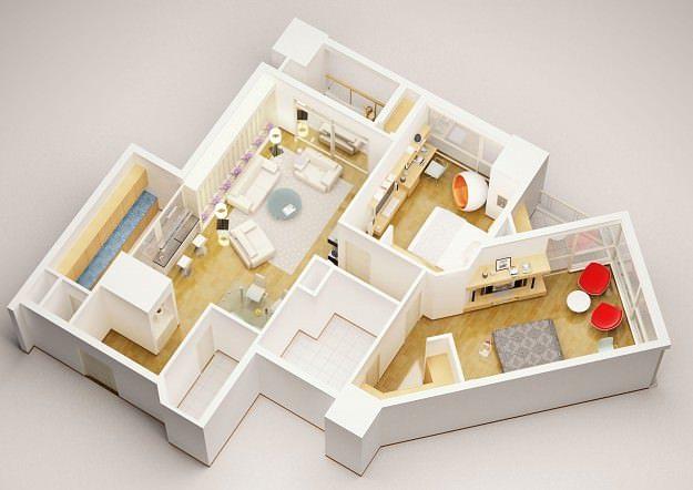 3d Model Detailed House Interior 3 3d Model Max 3