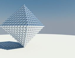 Triangle grid 3D