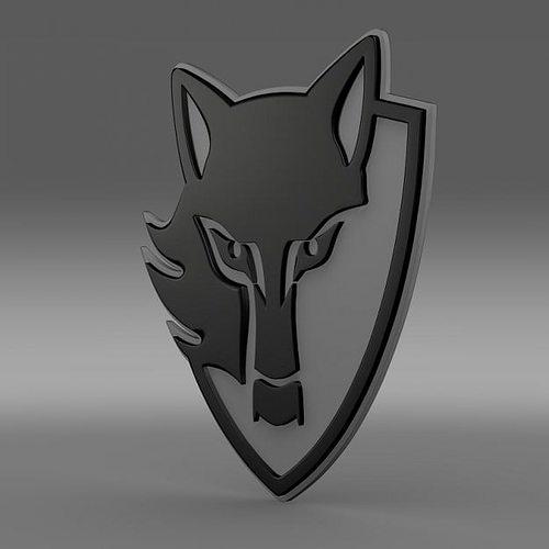 E Wolf 3d Logo Cgtrader
