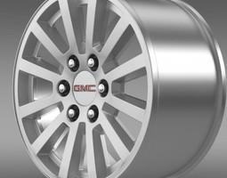 GMC Yukon Hybrid 2012 rim 3D model