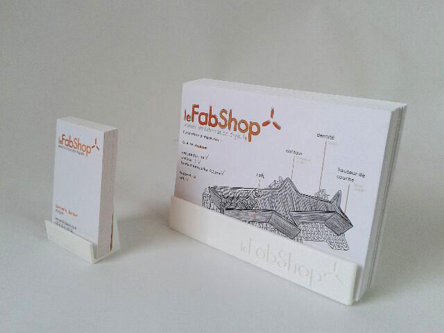 Le fabshop business card and flyer holder free 3d model 3d printable stl le fabshop business card and flyer holder 3d model stl 1 reheart Gallery