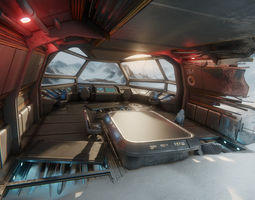 3D model realtime Sci-Fi Textures Pack