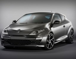 renault megane rs 250 high rez 3d