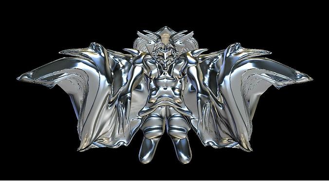 anubis 3d model obj mtl 1