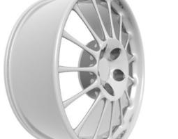 3d model rim Wheel Rim