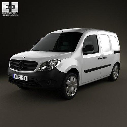 mercedes-benz citan mixto 2012 3d model max obj mtl 3ds fbx c4d lwo lw lws 1