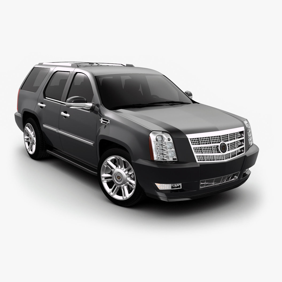 Cadillac Escalade 3D Model MAX OBJ 3DS